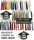 "2020 Graduation Tassel for Mortarboard Cap 9"" Gold Drop Date Year Charm 20"