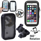 Bike Bicycle Phone Holder Bag Waterproof Mount Case Cover For Various iPhone