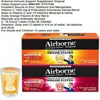 Airborne Vitamin C 1000mg Immune Support 36 ct Effervescent Tablets Antioxidants