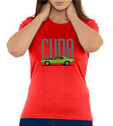 Plymouth Barracuda Cuda Muscle Car Sketch Quality Crew Neck Women's T Shirt