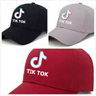 Tik ToK Mens Womens Adjustable Baseball Cap Golf Outdoor Casual Sports Sun Hat