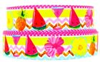"Grosgrain Ribbon 7/8"" & 1.5"" Fruits Series Watermelon Lemon Pineapple Printed."