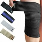 Sports Elastic Bandage Brace Wrists Knee Ankle Elbow Calf Arm Support Wraps Band $7.35 USD on eBay