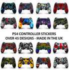 Playstation 4 Controller Decal Sticker Vinyl Waterproof - Easy to Apply