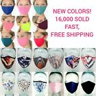 Kyпить Face Mask DOUBLE Layer WASHABLE REUSABLE Fabric Masks Protective Mouth Covering  на еВаy.соm
