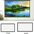 16 9 projection projector screen home movie manual pull down wall mounted