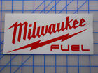 "Milwaukee Tools Fuel Decal Sticker 5"" Sawzall Drill Saw Impact M12 M18 Light"