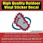 Colorado Avalanche Yeti Foot Design - Hockey Vinyl sticker decal $3.5 USD on eBay