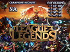 League Of Legends LOL Unranked NA Account Smurf Champions 10-50 Lv30+