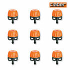 Claber Adjustable Drippers 0-40 Litres per hour. 99225 Packs of 50