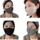 Face Mask Washable Cotton Reusable Protective Mouth Masks With Filter Pocket USA $12.5 USD on eBay