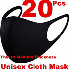 20Pcs Men Women Face Mask Reusable Washable Clothing Covering NEW Cover Masks