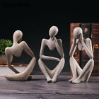 Thinker Statue Sculpture Modern Art Home Decoration Accessories For Living Room