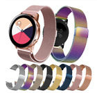 For Samsung Galaxy Watch Active 2 Replacement Metal Milanese Band Strap Luxury