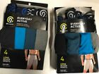4 MEN'S UNDERWEAR C9 CHAMPION by HANESBRANDS - LONG BOXER BRIEFS everyday ACTIVE