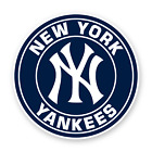 Sticker New York Yankees Baseball Round Decal NY Vinyl Die cut Emblem Car Truck on Ebay