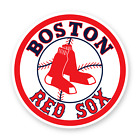 Boston Red Sox Round Sticker Baseball Decal Vinyl Die cut Emblem Car Truck Wall