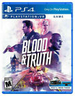Blood & Truth PS VR video game PS4 PlayStation 4 PSVR  Blood and Truth