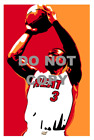 Dwyane Wade Glossy Print - Miami Heat on eBay
