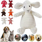 Funny Soft Pet Puppy Chew Play Squeaker Squeaky Cute Plush Sound For Dogs Toy UK