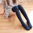 Wild Long High Stockings Vertical Stripes Thick Section Thin Over The Knee Socks