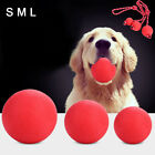 EY_ HB- IG_ Hot Solid Training Toy Rubber Ball Pet Puppy Dog Chew Play Fetch Bit