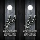 San Antonio Spurs Cornhole Wrap Decal Stickers Vinyl Gameboard Skin Set JC039 on eBay