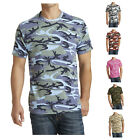 Men's Short Sleeve Comfort Core Cotton Camo Tee PC54C
