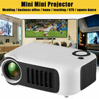 Mini Portable Pocket Projector HD 1080P Movie Video Home Theater HDMI AV TF Gift