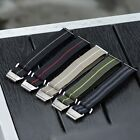 B & R Bands Military Elastic Parachute Style Watch Band Straps 20mm 22mm  image