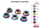 Front Shock Tower Nuts, Titanium, for Scion FRS/Subaru BRZ/Toyota 86/WRX/Outback $29.0 USD on eBay