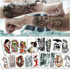 Flower Arm Tattoo Sticker Waterproof Guan Gong Creative Tattoo Sticker $9.99 USD on eBay