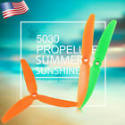 2/3 Blade Plastic Propeller Suitable For Mini Quadcopter Multi-Rotor 10 Pairs US