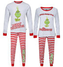 CHRISTMAS PYJAMAS THE GRINCH MENS LADIES NIGHT WEAR XMAS PJ SETS EX UK STORE NEW