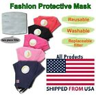 Kyпить Washable Reusable Face Cover Mask With Respirator With 2 Filters Fast Ship на еВаy.соm