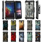 For Nokia 3.1C / Nokia 3.1A Full Body Armor Rugged Holster Belt Clip Case