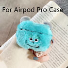 Cartoon Fluffy Warm Case Furry Wireless Earphones Case Cover for Airpodspro2 _kz