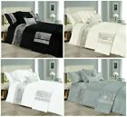 NEW Luxury Beautiful Sparkling Designs STAR light Duvet Cover Sets & Pillow Case