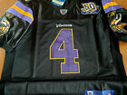 Brand New Minnesota Vikings classic #4 Brett Favre 50patch stitched Jersey BLACK $35.81 USD on eBay