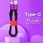 5A Fast Charging Sync Micro USB Type-c Charge Cable For Samsung Huawei Android