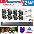 HIKVISION ColorVu SECURITY SYSTEM KIT 4MP 4K-UHD CAMERA  BULLET HDD INCLUDED
