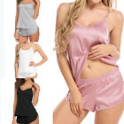 Kyпить US Women Sexy Lingerie Sleepwear Satin Silk Babydoll Lace Nightwear Pajamas Set на еВаy.соm