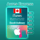 Apple ITunes Gift Card Canada $5 $10 $15 $25 $50 $100 ✅ Fast Delivery ✅ For Sale