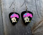 Betty Boop with a Hat Guitar Pick Earrings - Pick Your Hat Color $5.0 USD on eBay