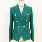 runway Hign-End Lapel neck Long sleeves Panelled Button Pocket fashion coats