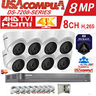 HIKVISION 5MP SECURITY SYSTEM 4K-UHD 8CH KIT EXIR 40M NIGHT VISION HDD INCLUDED