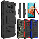 For Lg K51 / Lg Reflect Case Kickstand Holster Belt Clip Cover,screen Protector