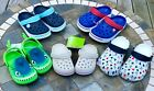 Kyпить Crocs & Capelli Child Toddler Junior Water Shoes Pink Red Blue July 4th New на еВаy.соm