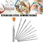 9pc/20pc Sewing Tools Stainless Steel Knitting Yarn Blunt Needles