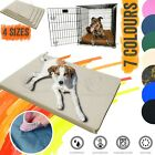 Waterproof dog cage mat resistant heavy duty mattress outdoor crate bed pad